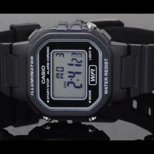 Casio Digital Women's Watch Light Alarm New